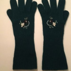 Winter  gloves , 70% lambswool, 20% angora ,